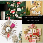 10 Great Holiday Card Displays