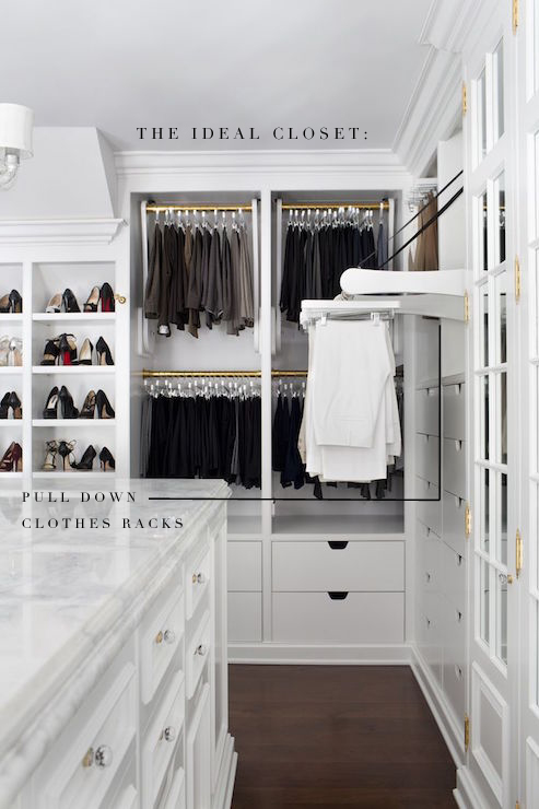 The Ideal Closet Pull Out Rod Live Simply By Annie