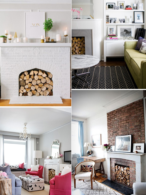 7 Decorative Solutions For A Non Working Fireplace Live Simply