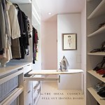 The Ideal Closet: Pull Out Ironing Board