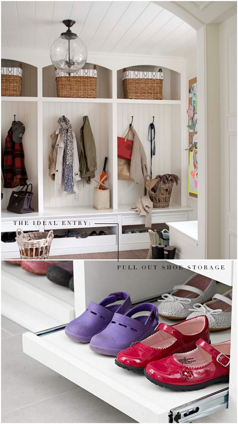 Shoe Storage In The Entryway Solved!
