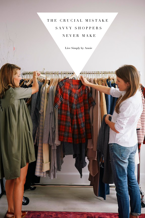 The crucial mistake savvy shoppers NEVER make!
