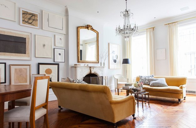 Sophisticated, layered & family-friendly! This townhouse is a masterpiece designed by... an untrained designer.