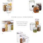Pro Organizer's Favorite Food Canisters