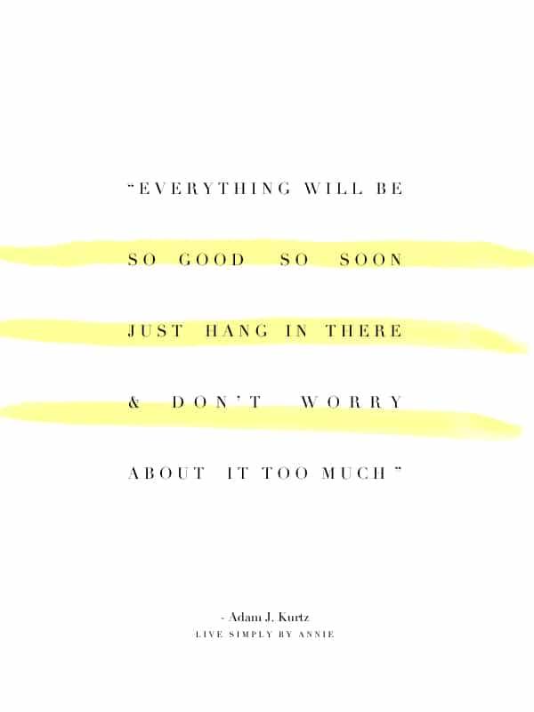 Best life mantra c/o @adamjk.