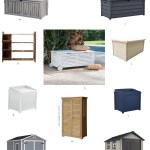 Backyard Beautiful: 10 Great Outdoor Storage Options For Porches, Patios, & Pool Decks