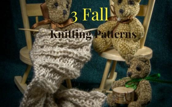 3 Fall Scarf Patterns