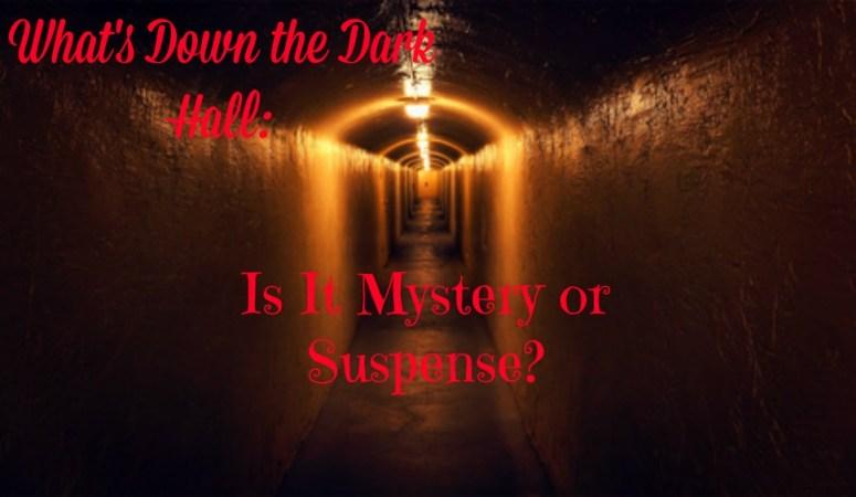 A dimly lit long dark hallway