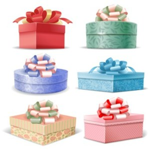 Gift Boxes for your knitted scarf