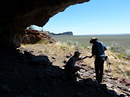Fort Rock Cave