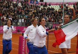 L'Italia ha conquistato in novembre la seconda Federation Cup della sua storia