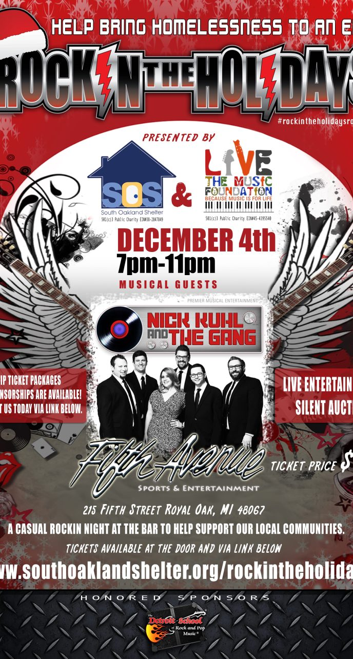 2014 - LTMF - SOS Rock In The Holidays Charity Event