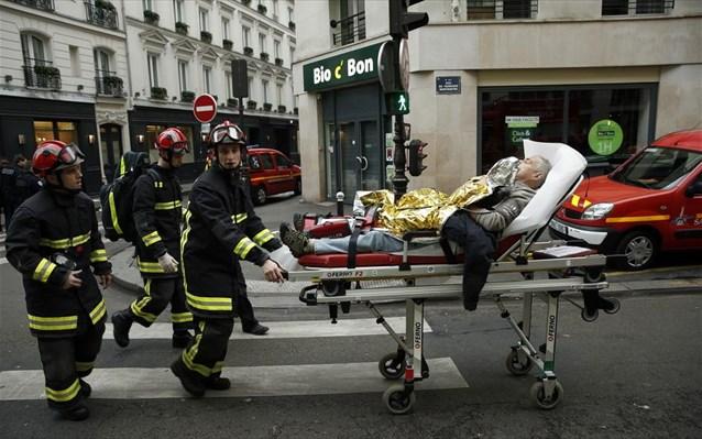 Τουλάχιστον 20 οι τραυματίες στο Παρίσι- οι δύο σε κρίσιμη κατάσταση