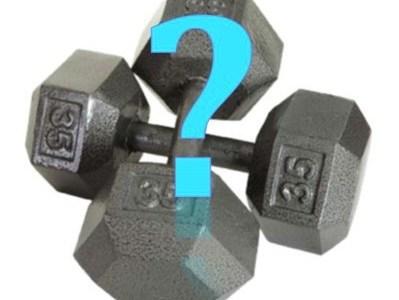 FAQ: Как да подбера с какви тежести да тренирам?