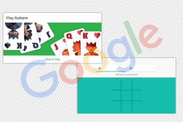 Play Solitaire and Tic Tac Toe in Google Search Results