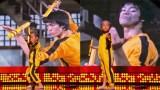 5Χρονο Αγοράκιεκτελεί Τέλεια Ολόκληρη σκηνή του Bruce Lee