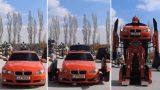Μηχανικοί κατασκεύασαν ένα αληθινό BMW Transformer (Video)