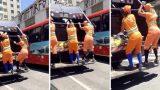Βραζιλία: 3 Απίθανες γυναίκες εργαζόμενες σε απορριμματοφόρο έχουν γίνει πλέον διάσημες σε όλη την πόλη για το χορό τους