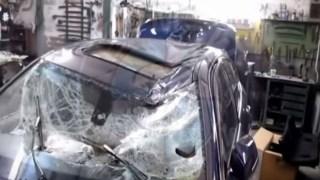Εκπληκτικό! Δείτε καρέ καρέ πως επισκευάζεται μία τρακαρισμένη BMW! (Βίντεο)
