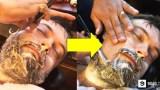 Ταλαντούχος Κουρέας ξυρίζει με Φαλτσέτα τα Γένια ενός Χίπστερ και για Κάποιο Ανεξήγητο Λόγο είναι ό,τι ΠΙΟ τέλειο είδαμε Σήμερα!