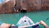 Ένας άντρας κατέγραψε σε βίντεο το εσωτερικό ενός εγκαταλελειμμένου πλοίου.