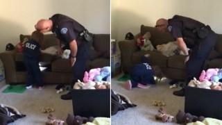 Κοριτσάκι 4 ετών κάΛεσε την αστυνομία για να ελεγξει αν υπάρχουν τέρατα κάτω απο το κρεβάτι της