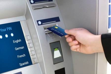 GPS Tracking for ATMs