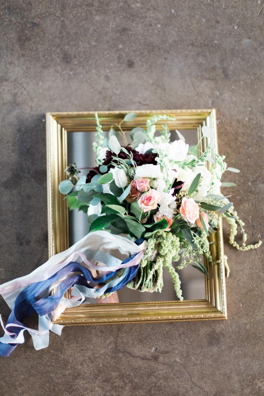 Blush Amp Blue Wedding Inspiration Fine Art Film Wedding