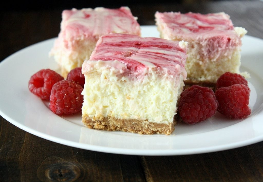 Lemon Raspberry Cheesecake Squares