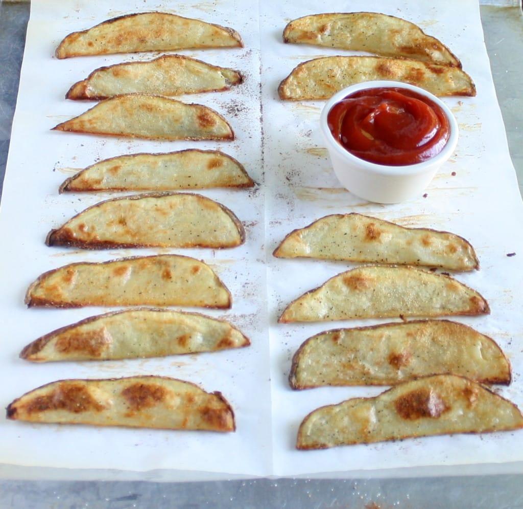 Crispy Baked Potato Wedges