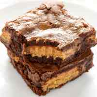 Fudgy Peanut Butter Cup Brownies