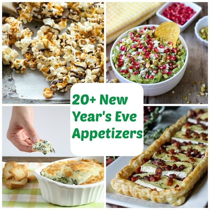 20+ New Year's Eve Appetizers