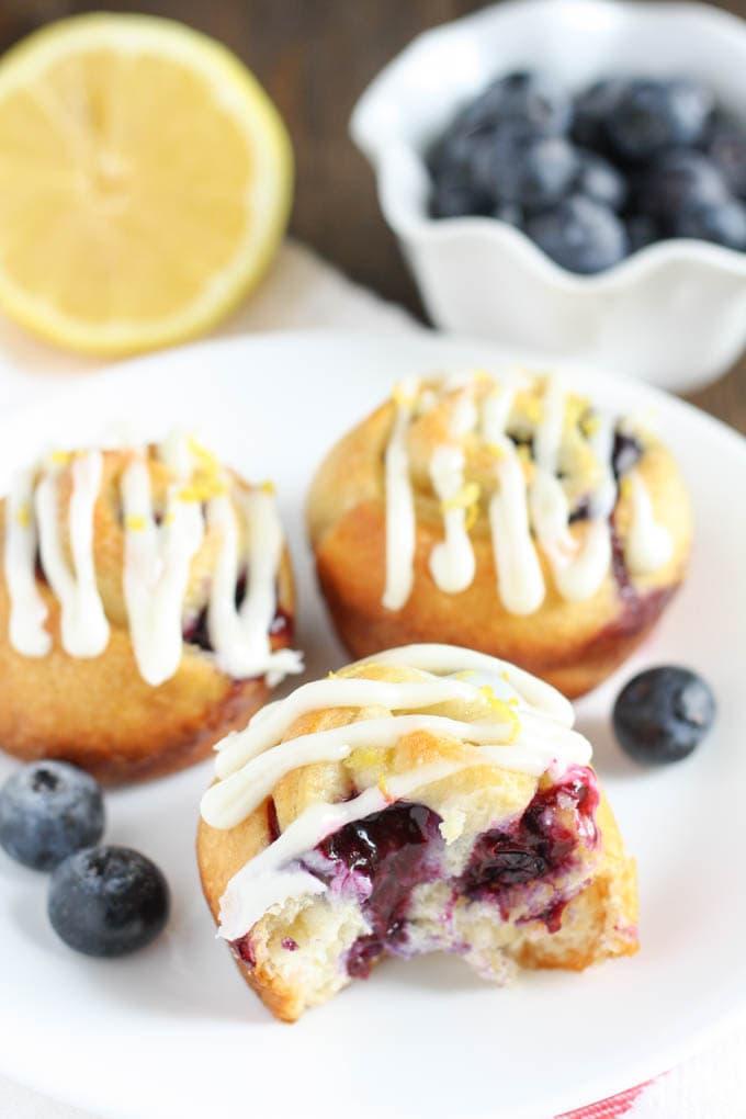 strawberry sweet rolls lemon blueberry sweet rolls blueberry lemon ...