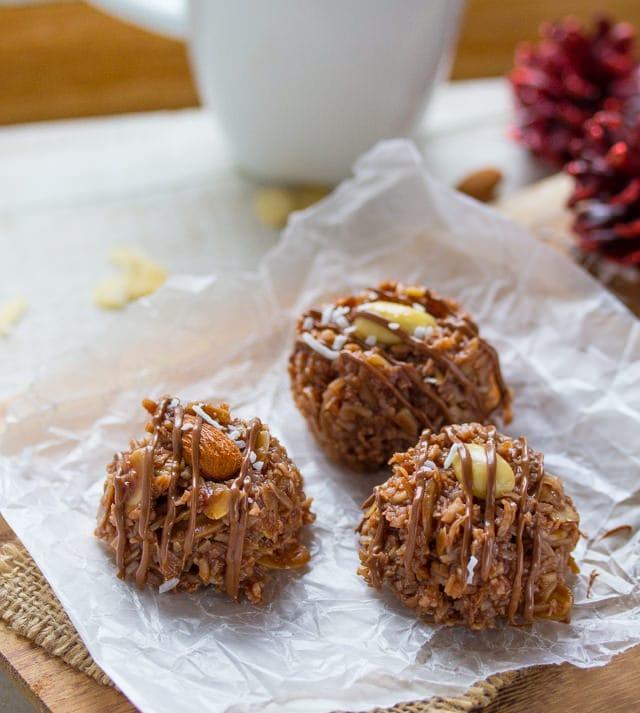 No-Bake Almond Joy Cookies