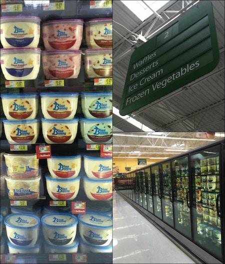Blue Bunny Walmart Collage