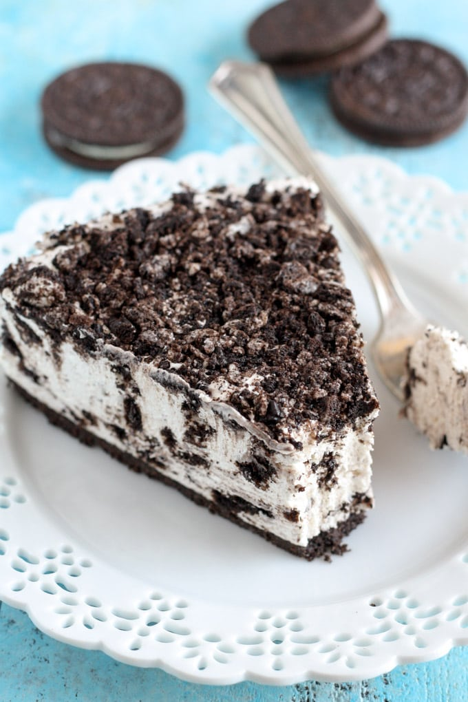 No Bake Oreo Cheesecake Live Well Bake Often