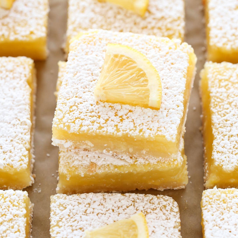 Classic Lemon Bars Sq Chunky Bar White 100 Gr