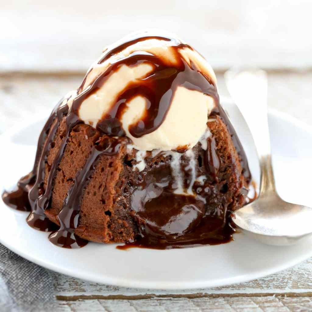 Melting Chocolate Dessert