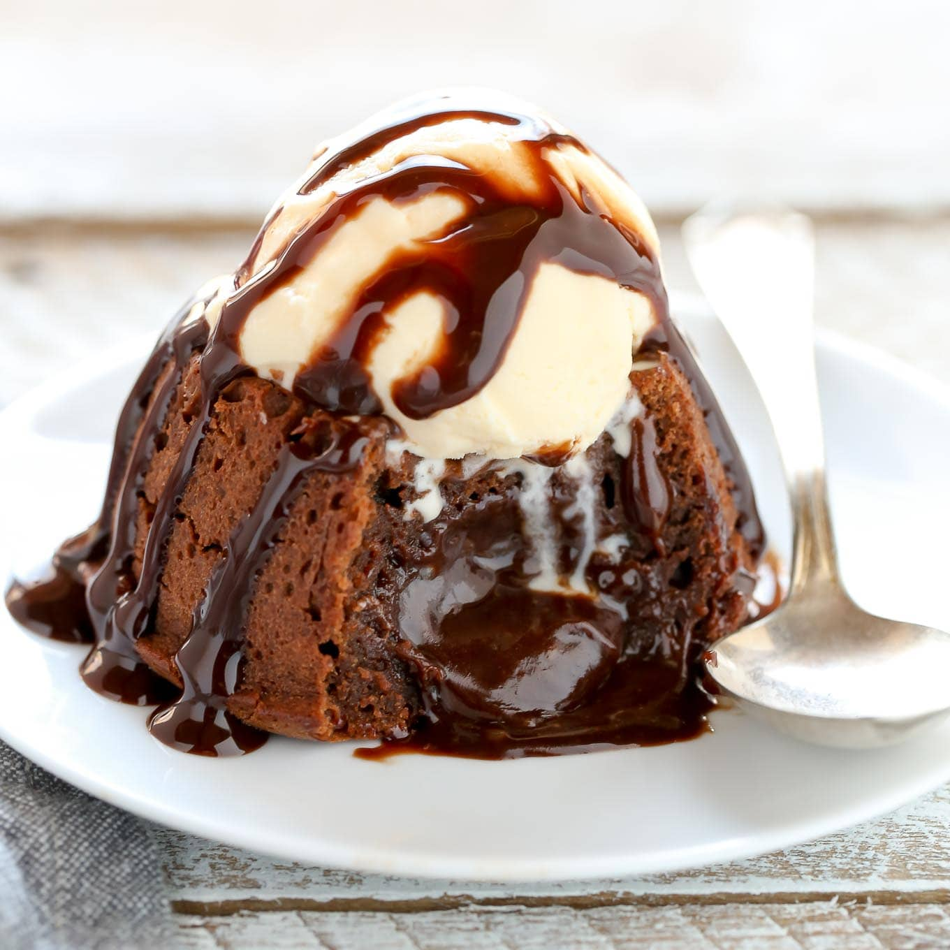 Bakers Chocolate Molten Lava Cake