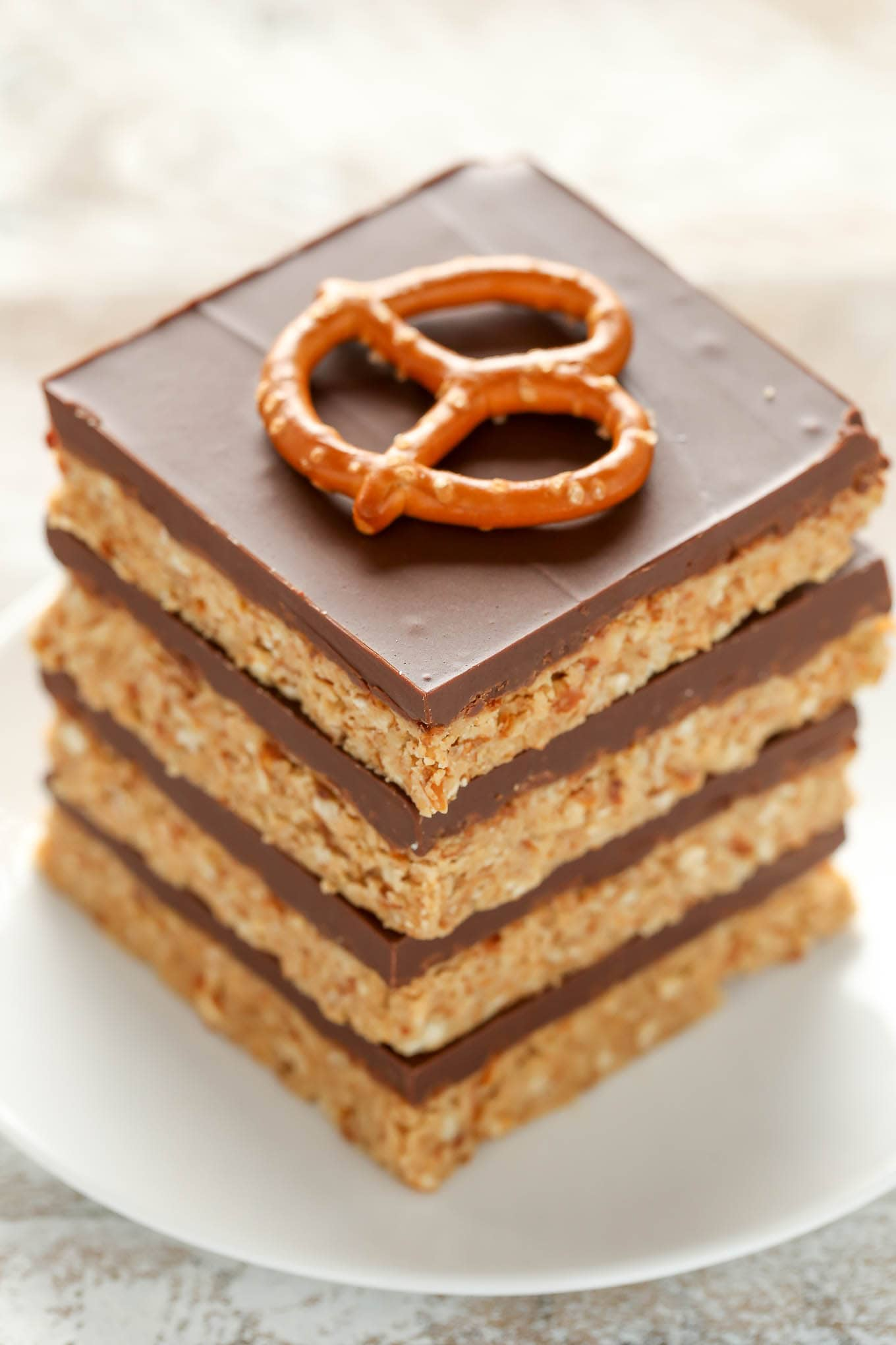Trisha Yearwood Peanut Butter Cookie Bars : trisha, yearwood, peanut, butter, cookie, No-Bake, Peanut, Butter, Pretzel