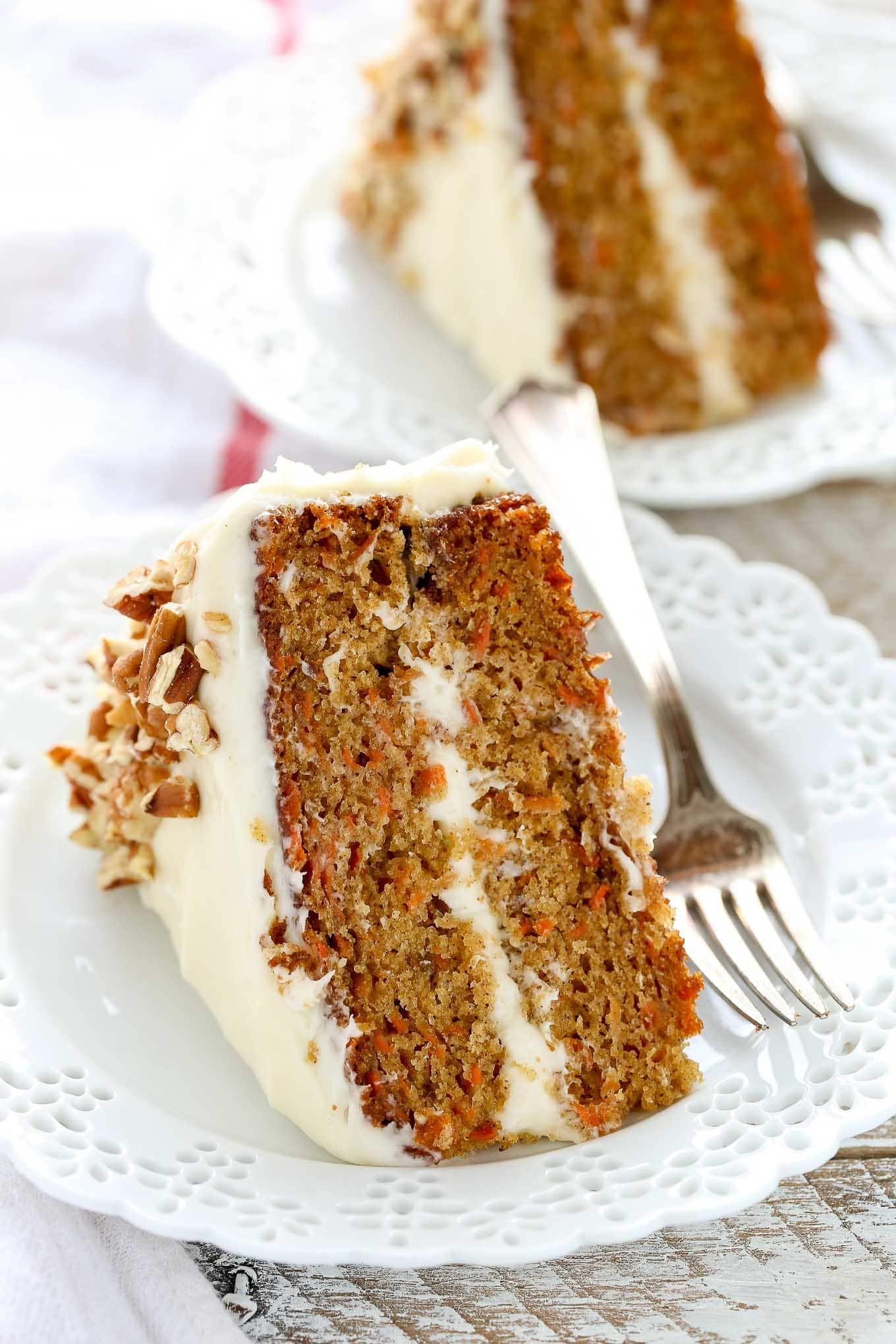 Homemade Carrot Cake With Raisins