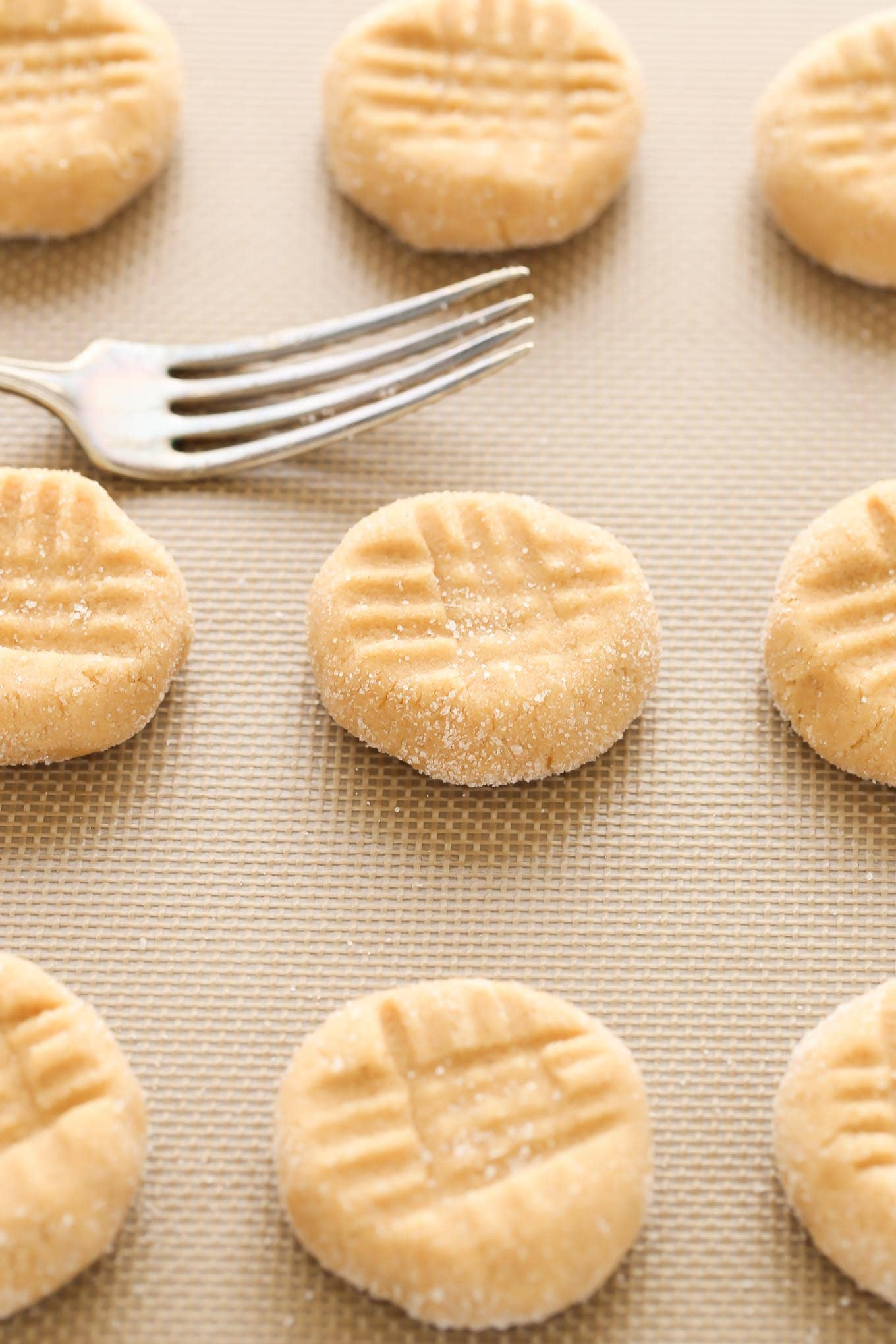 How to make peanut butter cookies without baking soda