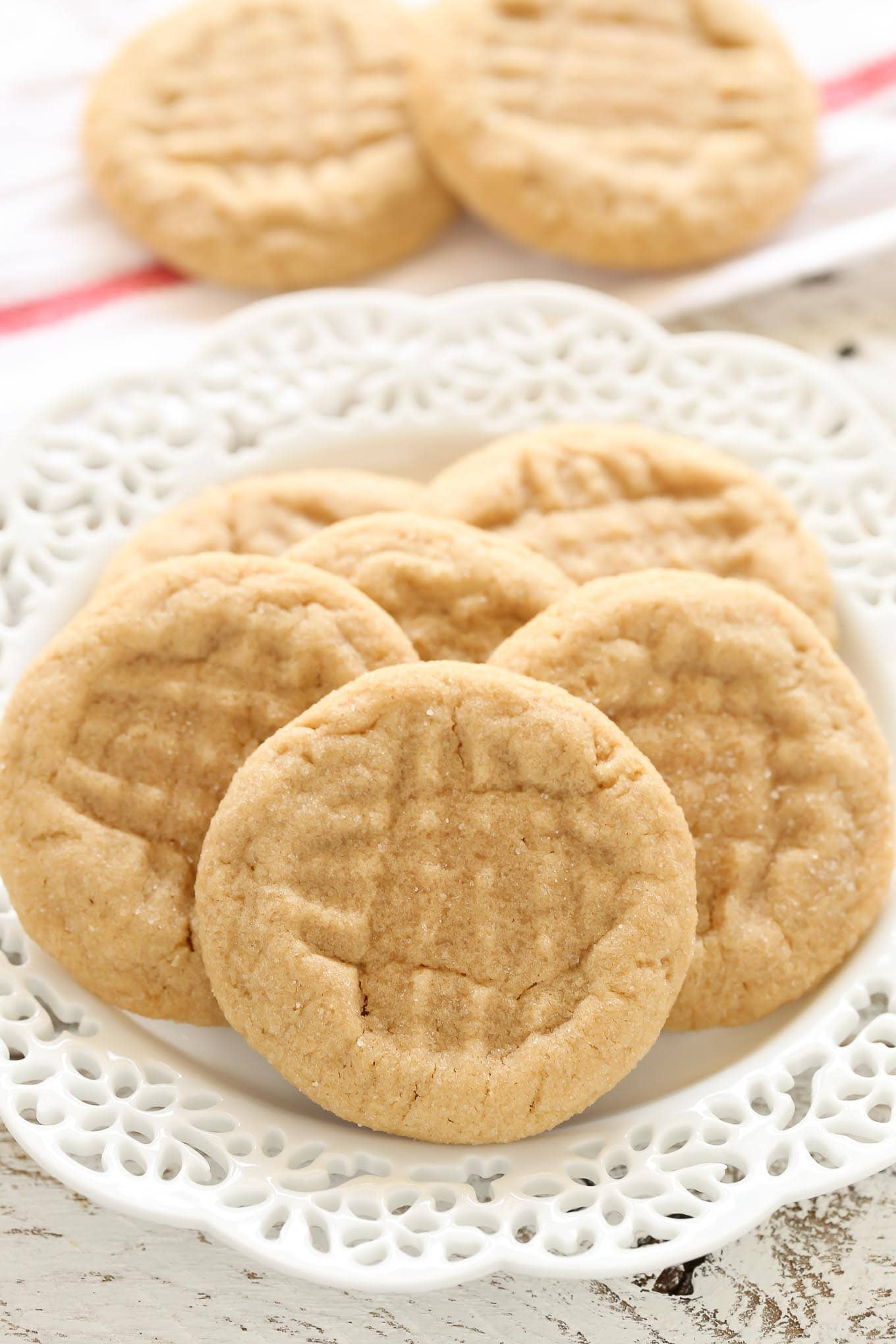 Soft Peanut Butter Cookies Live Well Bake Often