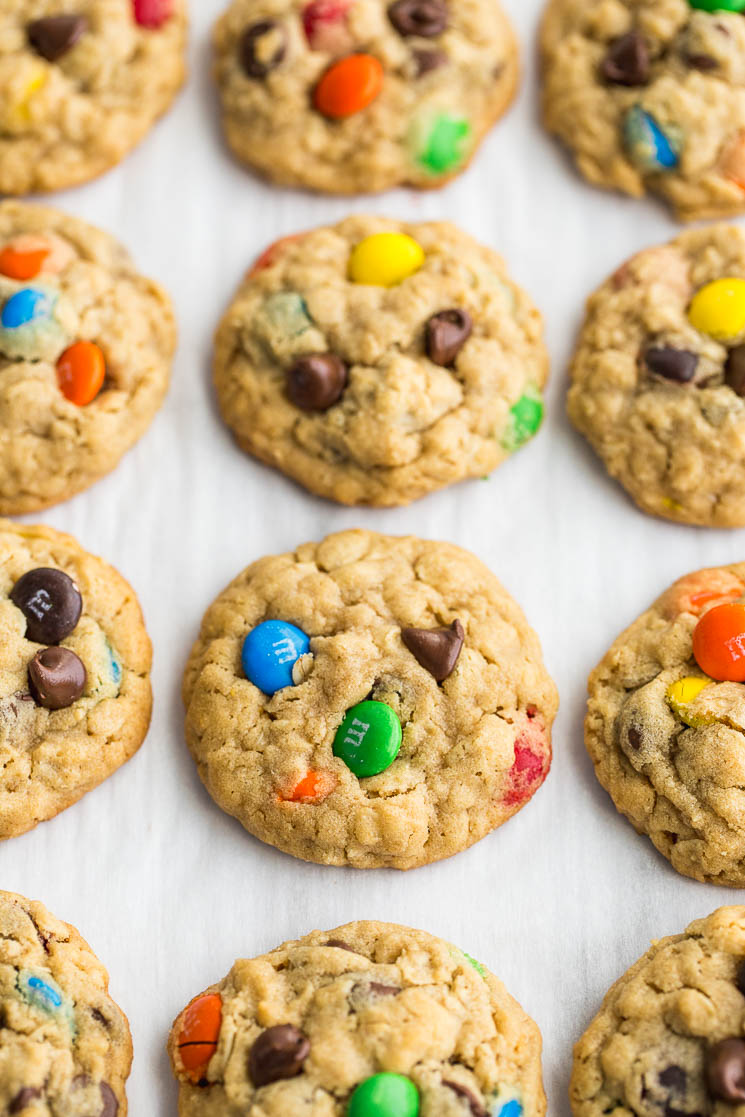 Soft And Chewy Monster Cookies Live Well Bake Often