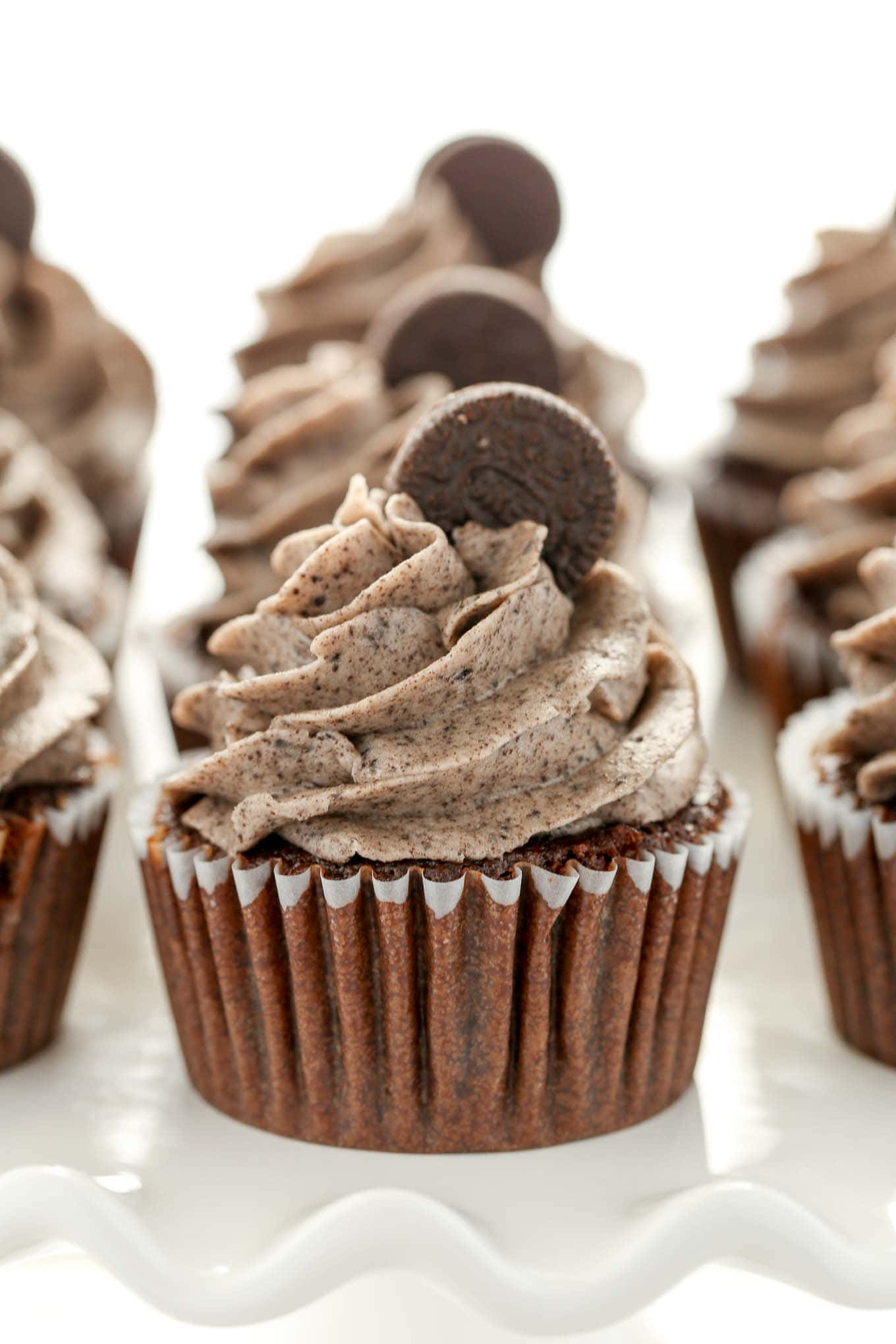 Chocolate Oreo Cupcakes - Live Well Bake Often
