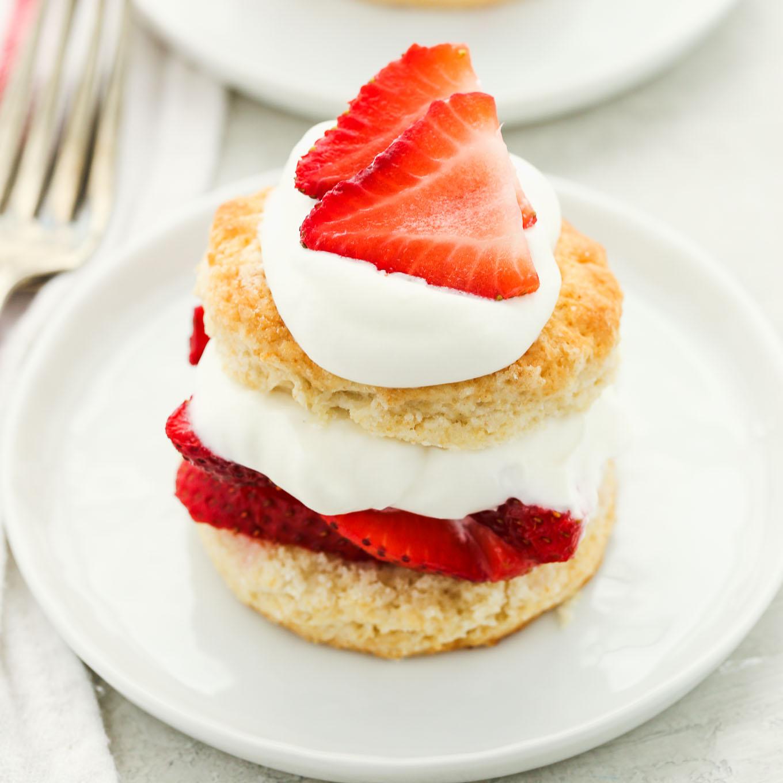 Homemade Strawberry Shortcake - Live Well Bake Often