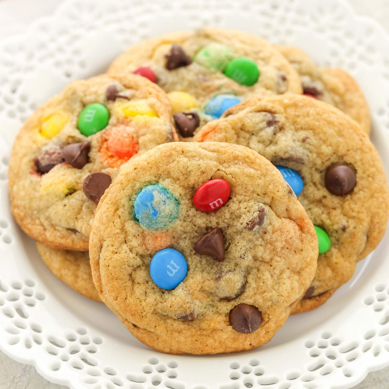 soft and chewy m m chocolate chip cookies live well bake often rh livewellbakeoften com cookie clicker cheats cookies rezepte