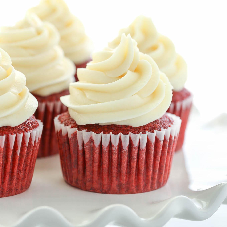 Cupcake recipes red velvet