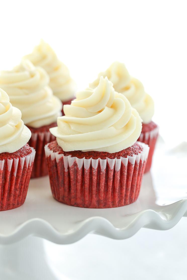 Easy red velvet cupcakes no buttermilk