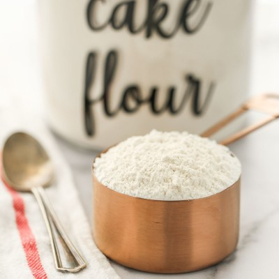 Homemade Cake Flour